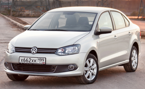 Автомобиль Volkswagen Polo sedan